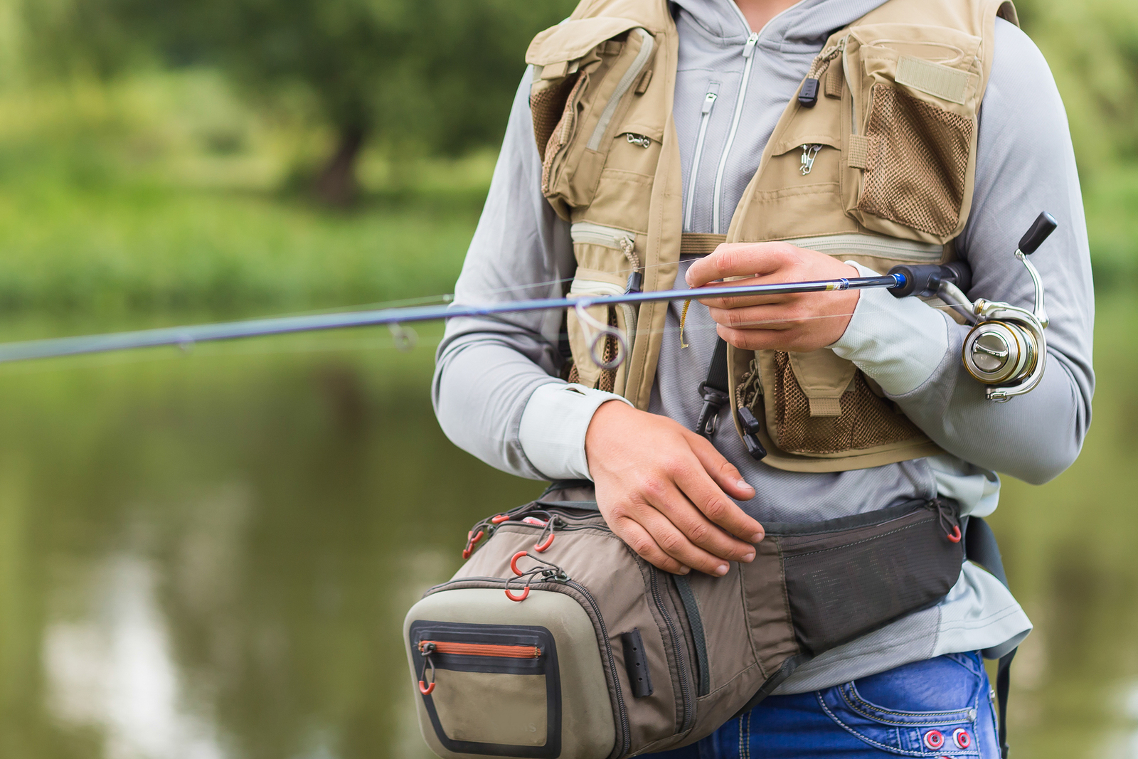 The right stuff finding the perfect gear and fishing for Fishing tackle online