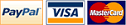 Verified Payments: Paypal, Master Cart & Visa